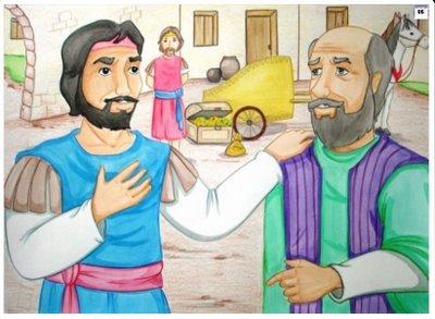 Naamã é Curado de Lepra História Bíblica Ilustrada