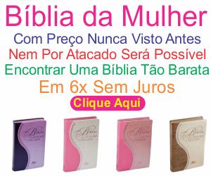 bíblia de estudo da mulher promoção